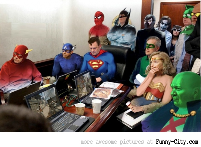 18+8 photoshoped pictures of the Situation Room [841]