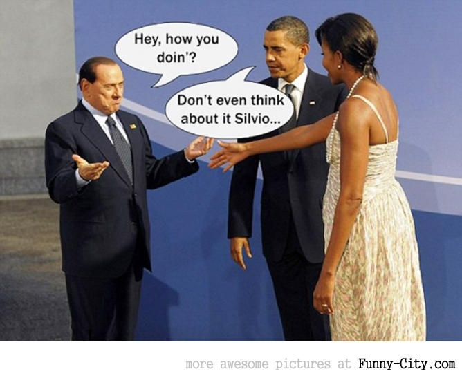 Don't even think about it Silvio....