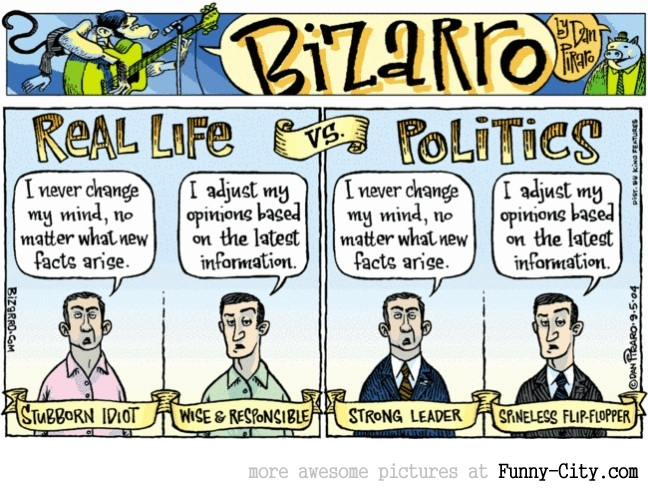 Real Life vs. Politics