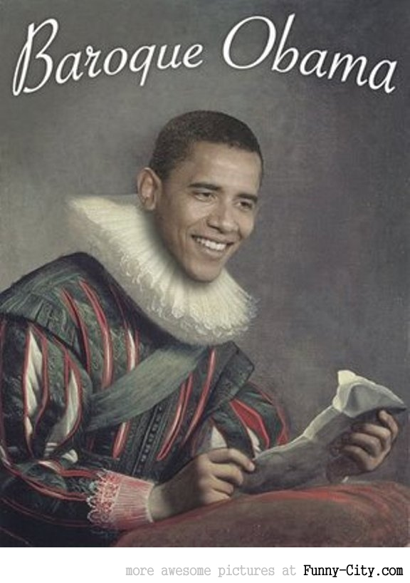 Baroque Obama