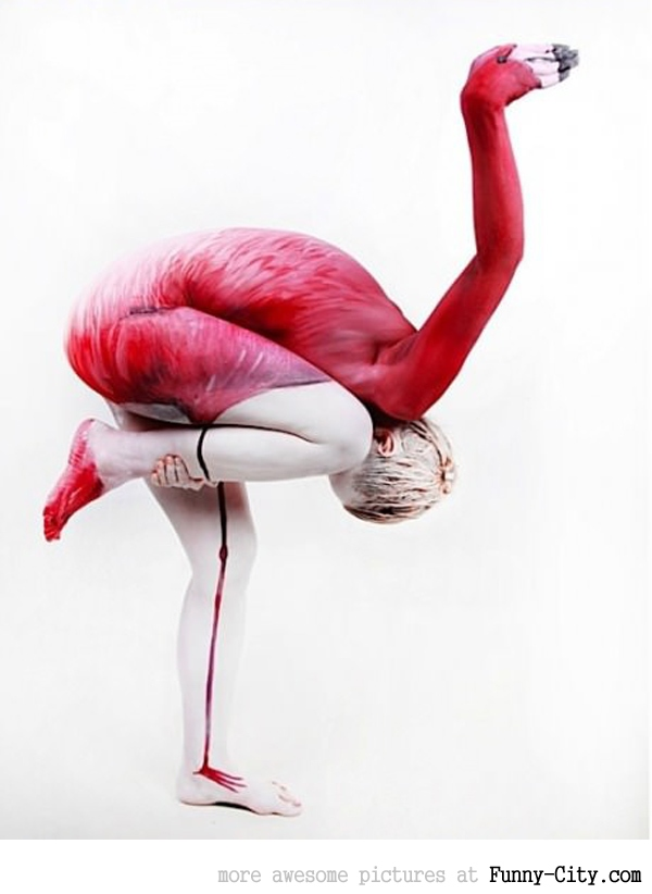Body painting illusions [15 photos] [3342]