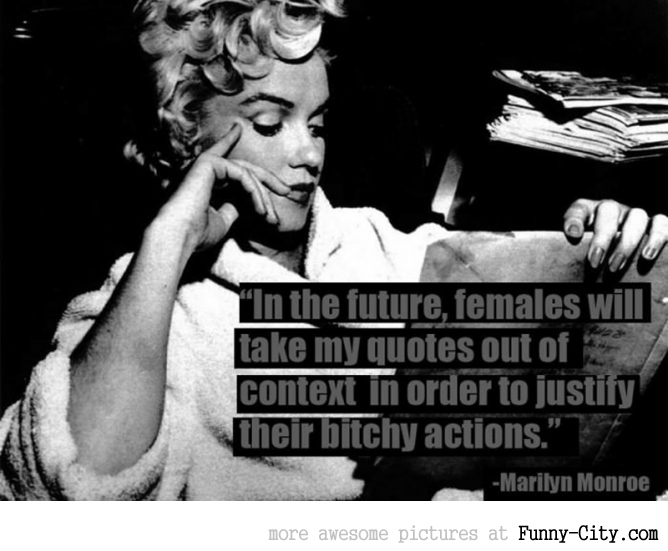 Words - Marilyn Monroe