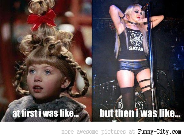 Taylor Momsen - At first i was like (9 photos)