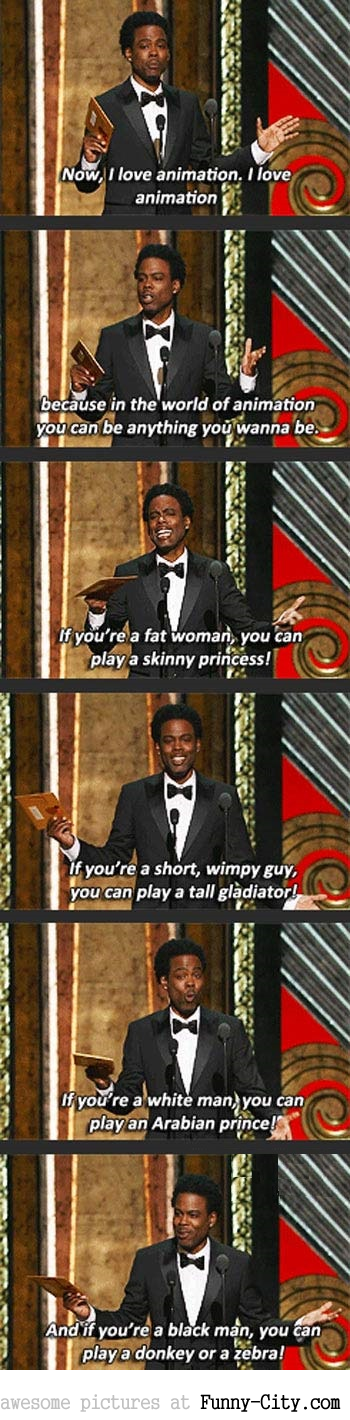 Chris Rock on animated films [6364]