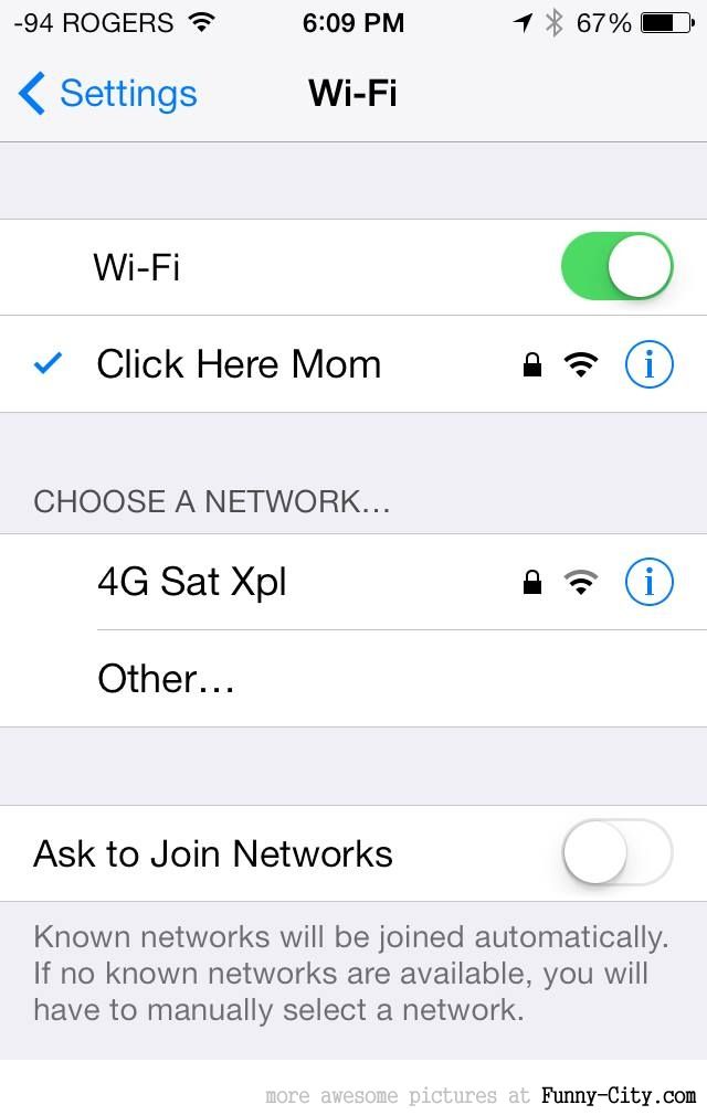 My friends Mom bought a new router and asked him to set it up