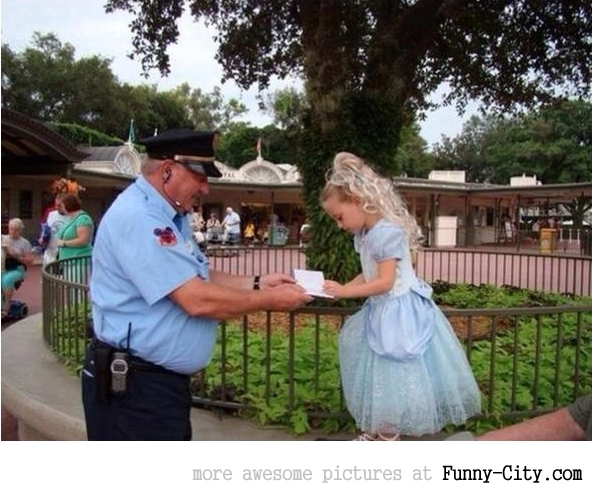 This Disney World security guard rocks
