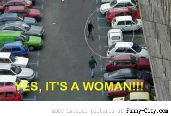 Yes its a woman