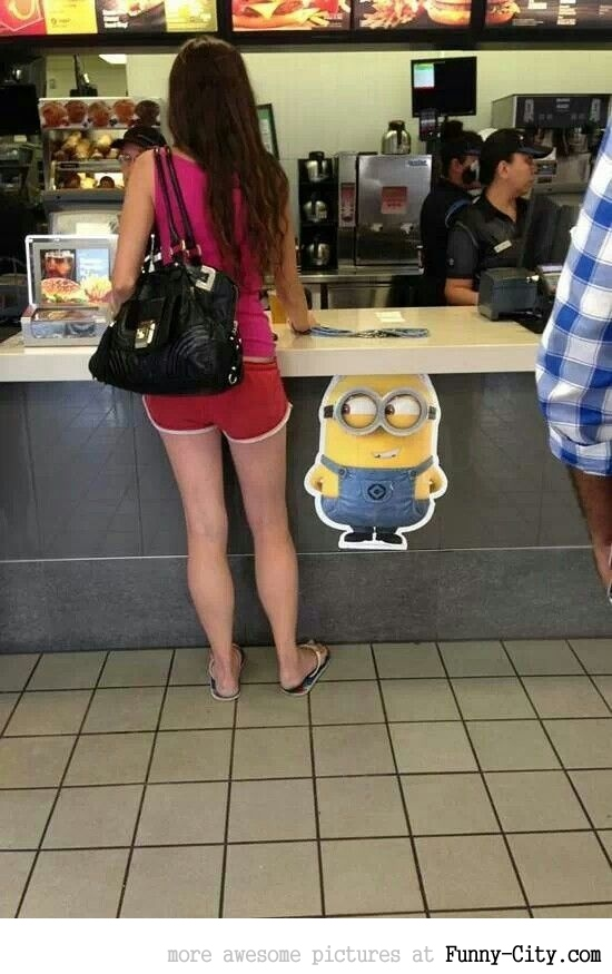 This Minion is in a good place