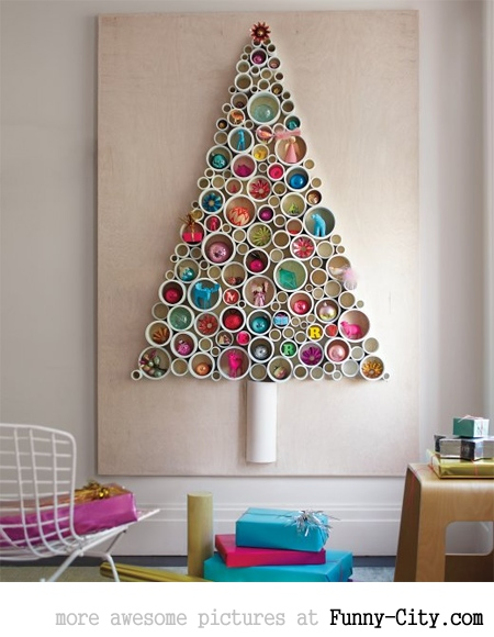 Creative christmas trees (10 photos)