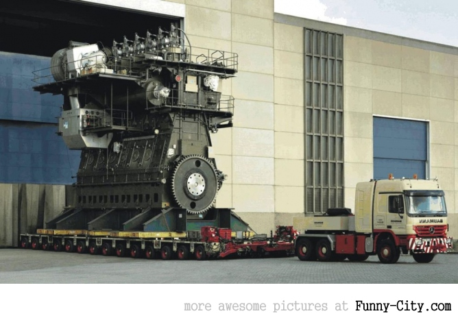 What a 107 thousand horse power engine looks like