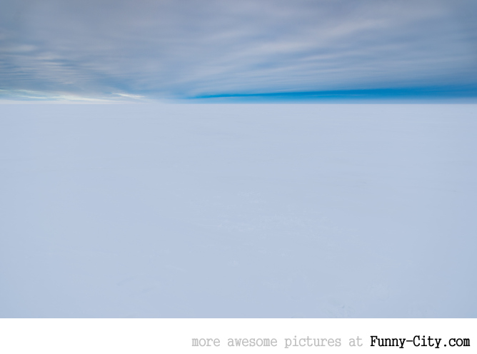 I went to see the Arctic Ocean, this is what it looked like